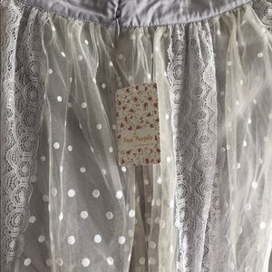 98b49615f0 Free People Skirts - Free People Dreaming of You Tutu Tulle Maxi Skirt
